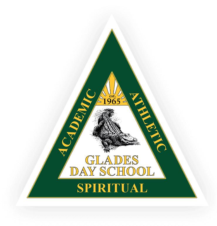 Triangle Logo for Glades Day School